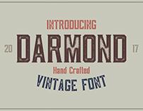 Darmond - Vintage Font