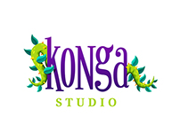 Konga Studio - Logo and Illustrations