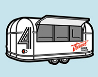 Thermos Food Truck Branding