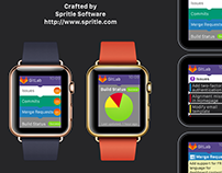 GitLab on Apple Watch - Concept App