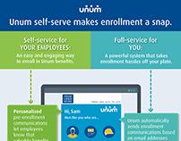 Self-Serve Enrollment Announcement - Unum