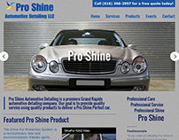 Pro Shine Automotive Detailing