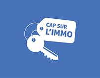 CAP SUR L'IMMO - Motion Design & illustration