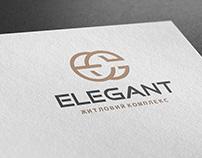 """Логотип """"Жилой комплекс Elegant"""""""