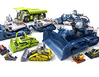Earth Mover Concepts Family Photo