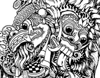 Barong and Rangda