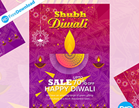 Creative Diwali Flyer Design