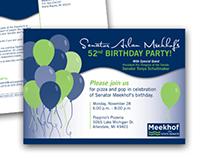 Senator Meekhof Postcard and Business Card