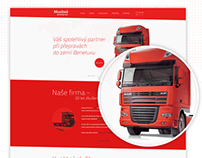 Truck transport website