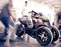 Peugeot Onyx Scooter - The making of