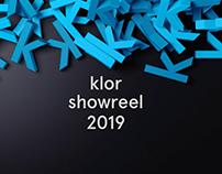 Motion Graphics Showreel — 2019