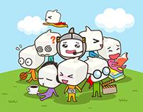MySQUARE Mascot