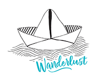 Wanderlust - Vinyl stickers
