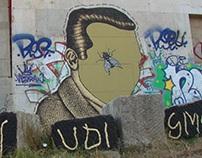 Ljudi smo ( We are people ) / Streetart Illustration