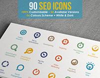 Targo - Premium SEO Industry Icons
