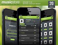 Music Store Retina App
