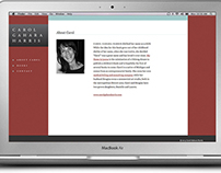 WEBSITE FOR AN AUTHOR