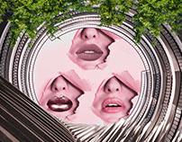 Collage art // round seven//