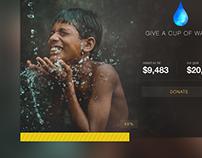 Crowdfunding Widget
