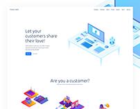 SaaS Platform Landing Page