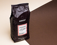 Agust Coffee - Brand Identity and Packaging