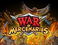 WOM (War Of Mercenaries) UI / UX Design