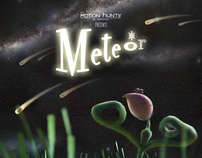 3d animation short film POSTER [ METEOR ] - Night