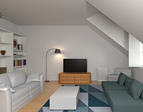 3D | Living Room Interior