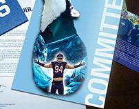 Sports Poster Designs - UConn Football