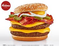 Holmes Burgers - New Menu 2021