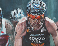 World Triathlon Grand Final Illustration