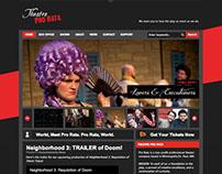 Theatre Pro Rata Website