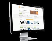 Ecom webdesign for NapZap
