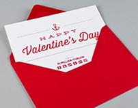 M+F Valentine's Day Card