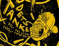 Event Poster - Fyll Hodets Tanker 04