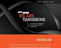 Tangerine Ltd Website UI/UX