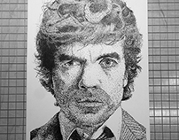 Peter Dinklage Stipple