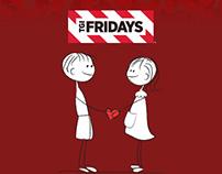 TGI FRIDAYS Valentine Campaign