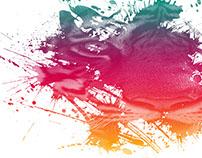 Tiger Paint Splash Effect