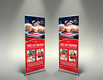 First Aid Signage Template
