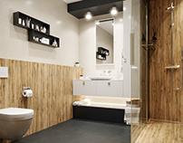 Shower room visualization
