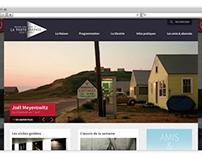 Maison Européenne de la Photographie - A Redesign study