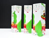 Packaging: Zesta Green Tea