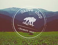 Skove shop // Web & Branding