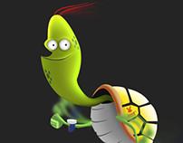 SPEEDY the turtle.