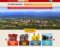 Shell Sacramento - web design