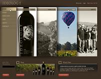 Ideology - web design