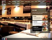 Bice ristorante - web design