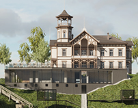 Visualization of the spa complex and old manor