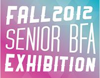 2012 Senior BFA Poster